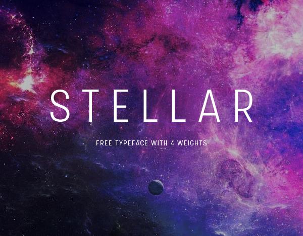 Stellar free fonts