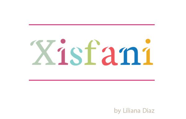 Xisfani free fonts