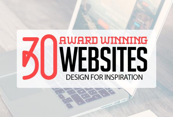 30 Fresh Award Winning Websites for Inspiration