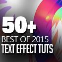 Post thumbnail of 50 Best Text Effect Tutorials