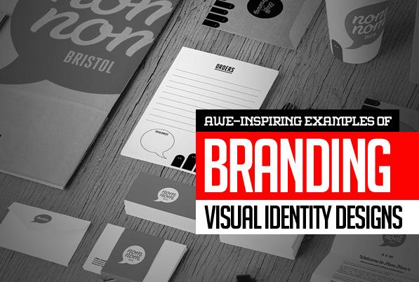 26 Awe-Inspiring Branding, Visual Identity and Logo Design Examples