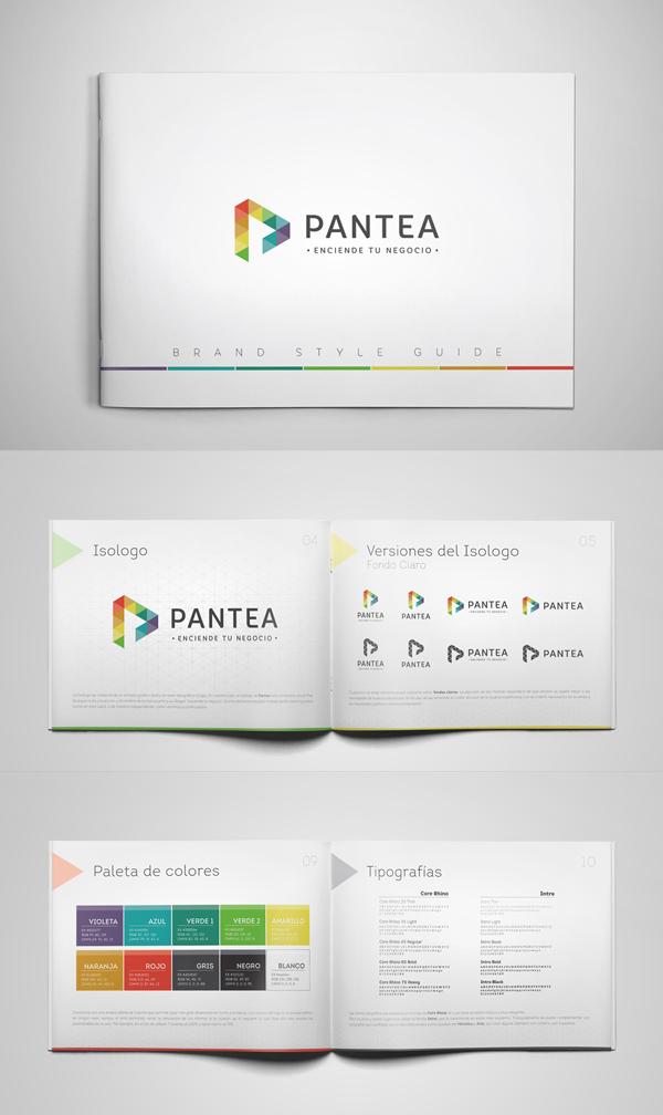 Pantea Brochure Design