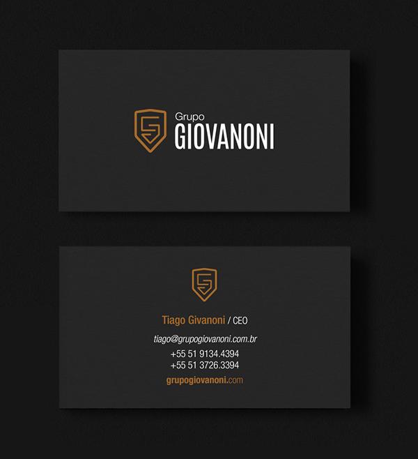 Grupo Giovanoni Business Card Design