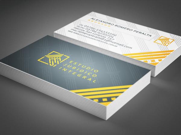 E.J.I. Business Card Design