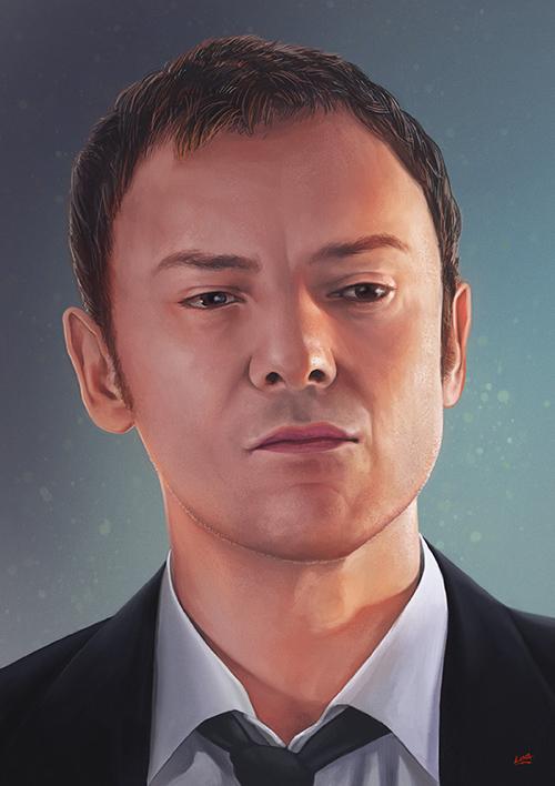 Stunning Digital Portrait Artwork by Christophe Bastin