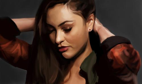 Digital Portrait Paintings by Noelle Blackmon