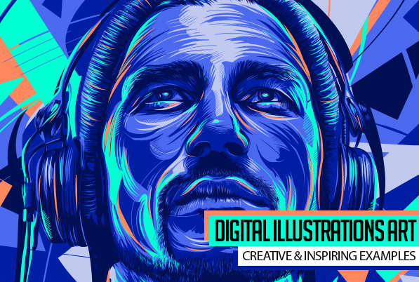 35 Creative Digital Illustrations Examples for Inspiration