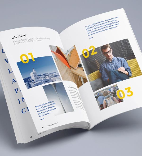 Photorealistic Magazine PSD Mock-up