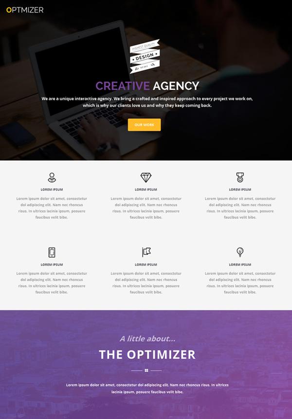 Optimizer – Free WordPress Theme