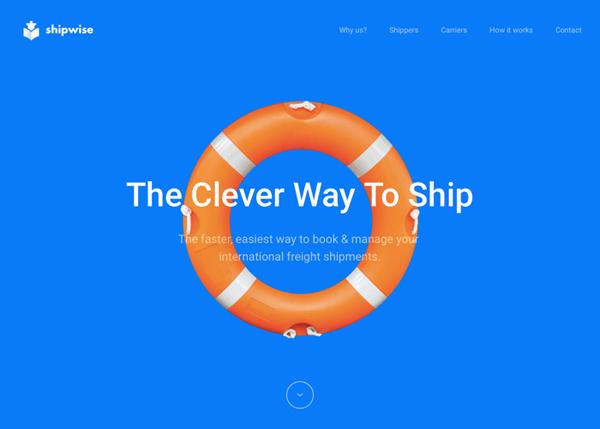 HTML5 Websites Design Websites: 25 New Examples - 12