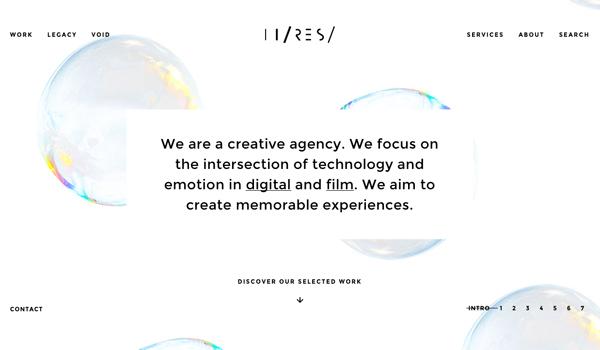 HTML5 Websites Design Websites: 25 New Examples - 13