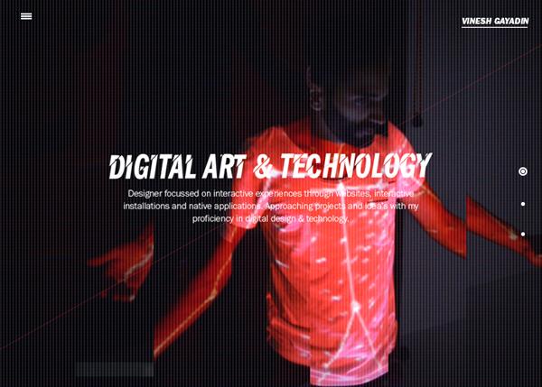 HTML5 Websites Design Websites: 25 New Examples - 25