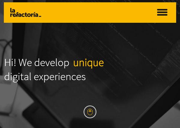 HTML5 Websites Design Websites: 25 New Examples - 9