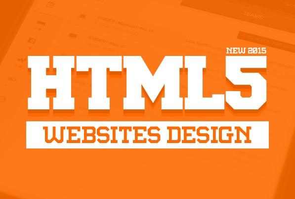 HTML5 Websites Design – 25 New Web Examples