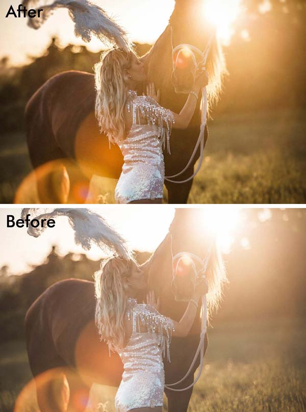 Use Photoshop CC 2015's new Dehaze and Grain on Blur to retouch a photo Photoshop tutorial