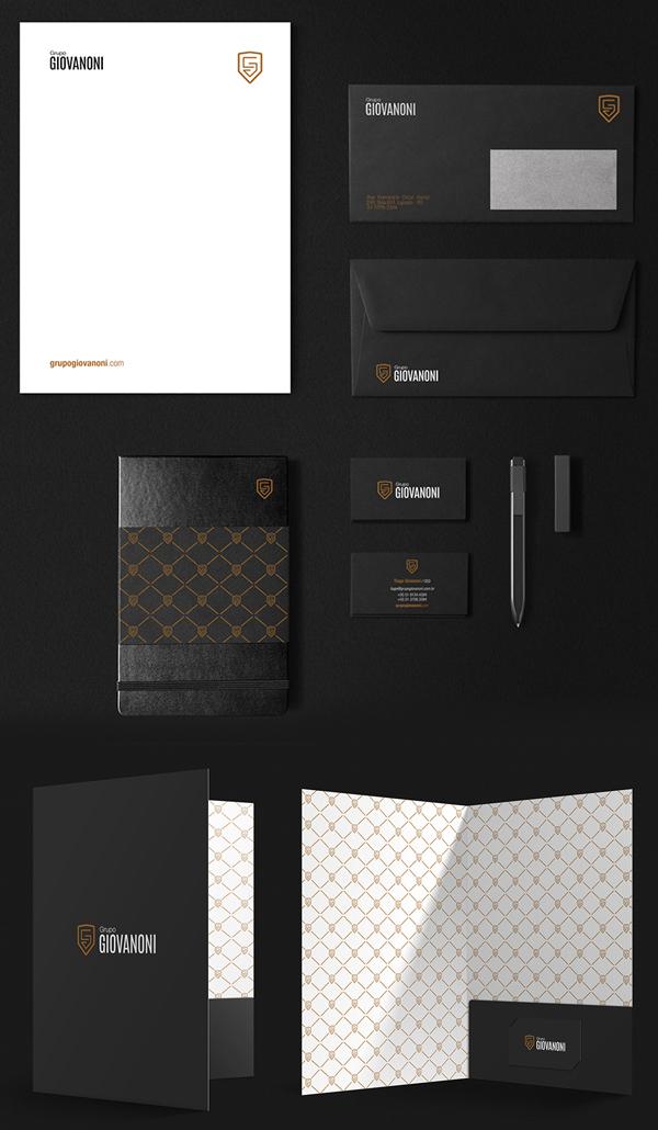 Grupo Giovanoni Stationery Design