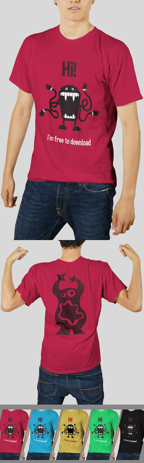 Tshirt Mockups Mockup Templates
