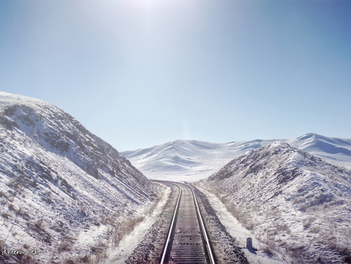 Winter In Mongolia Landscape photography
