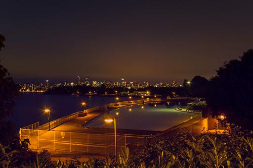 Vancouver Night Landscape photography