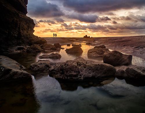 Sunset at Mompiche Ecuador Landscape photography