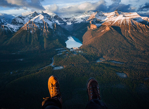 A Best View On Lake Louise, Canada Landscape photography