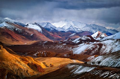 Amazing Ak-Baital Pass, Pamirs, Tajikistan Landscape photography