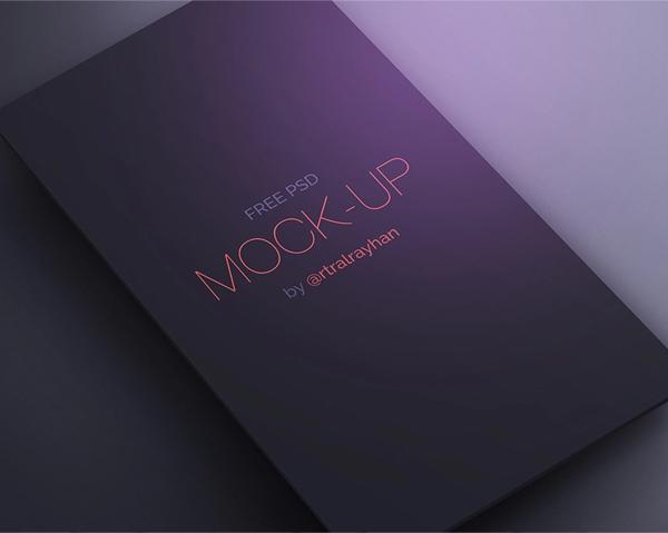 Free App Screen PSD Mockup for UI Designers