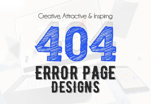 404 Error Page Design – 25 Creative Web Examples