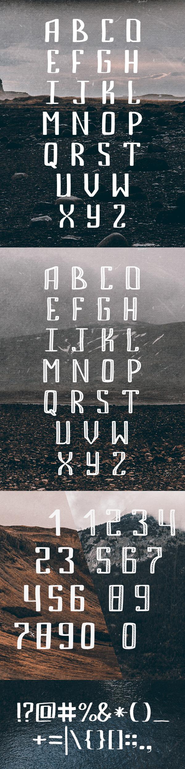 Bemount letters