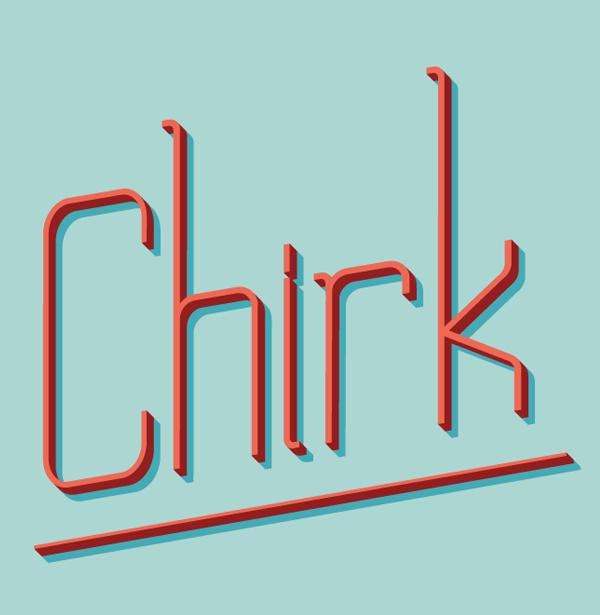 Chirk free font