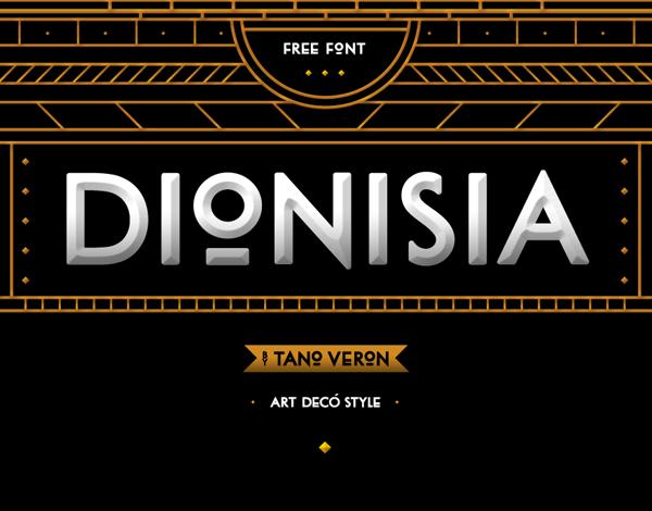 DIONISIA free font