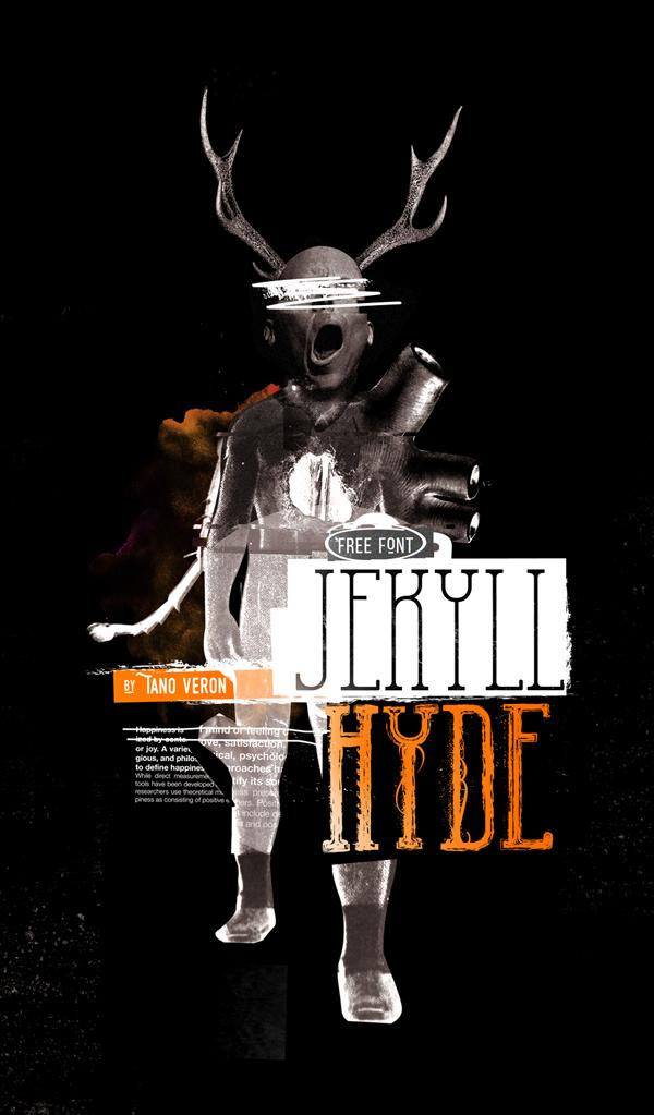 Jekyll Hyde free font