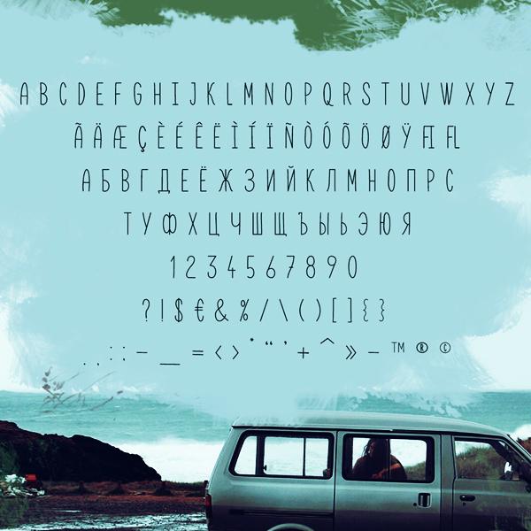 Karmina Handwritten font letters