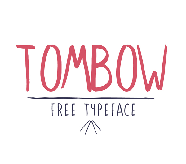 Tombow Free Brush Font