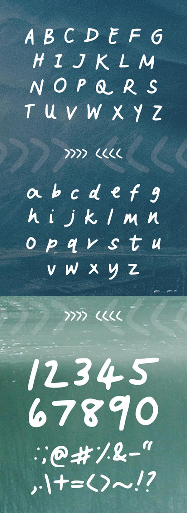 Vanderful letters