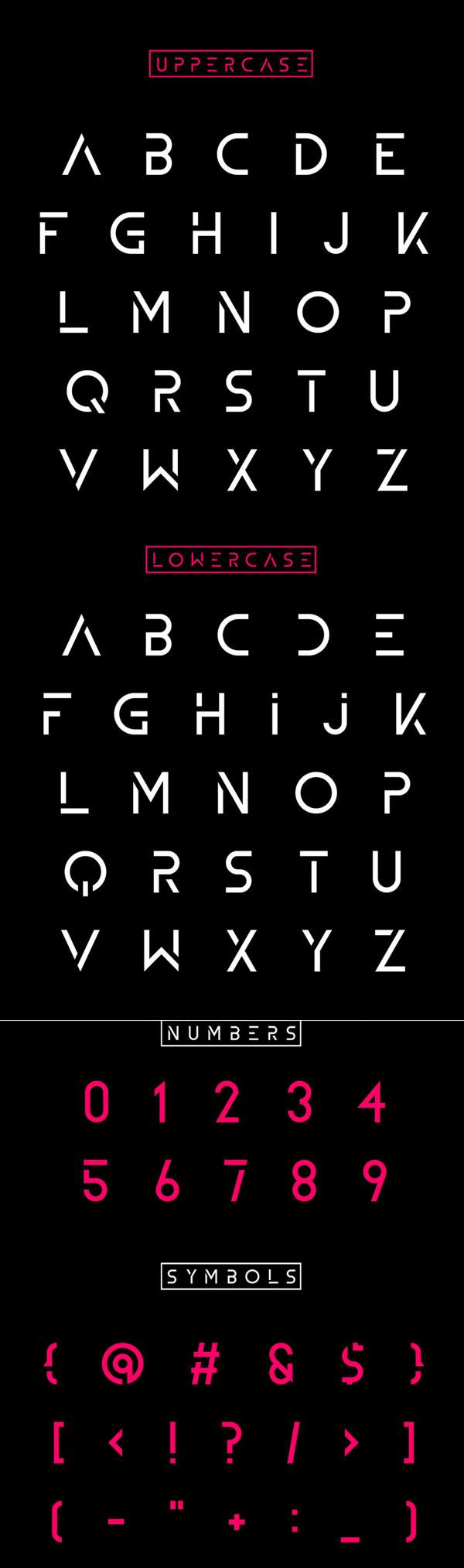 Zelda font letters
