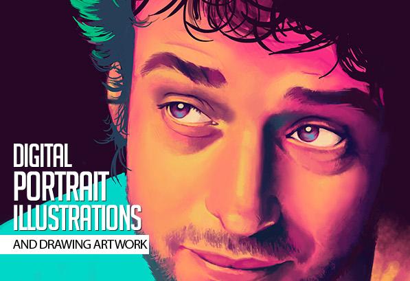 Amazing Digital Portrait Illustrations for Inspiration