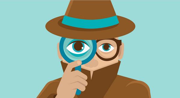 Eyes gaze upon the web design of your website