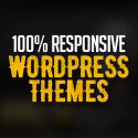 Post thumbnail of New 100% Responsive WordPress Themes
