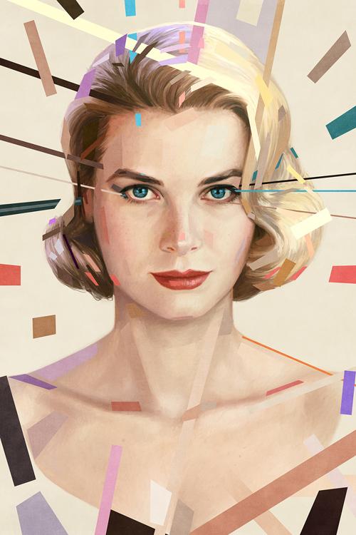 Grace Kelly Portrait by Ástor Alexander