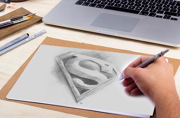 Designers sketch book