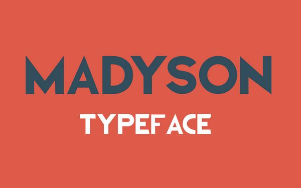 Madyson Free Font