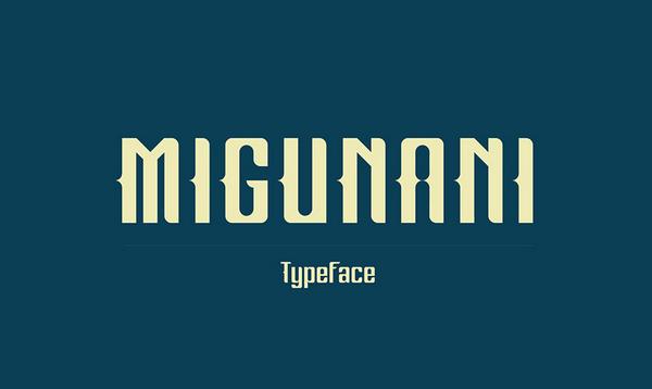Migunani Free Font