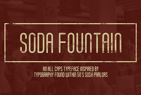 Soda Fountain Free Font