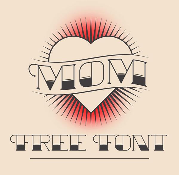 Mom Free Font