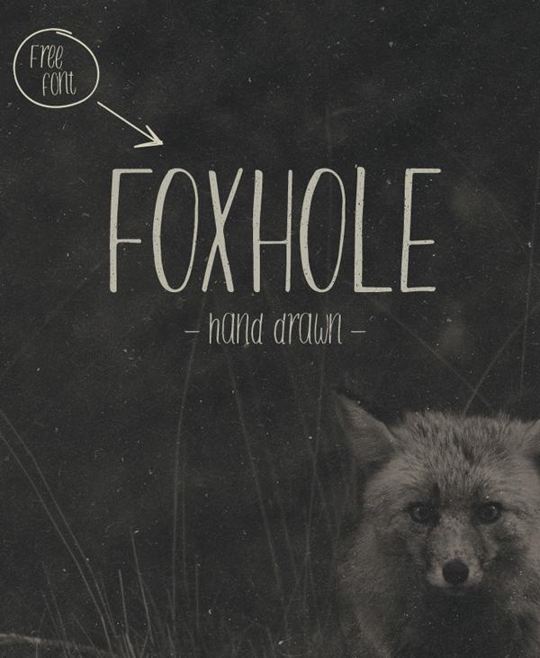 FOXHOLE Free Fonts
