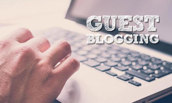 Guest Blogging help website presence