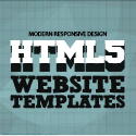 Post thumbnail of 15 Modern Responsive Design HTML5 Website Templates