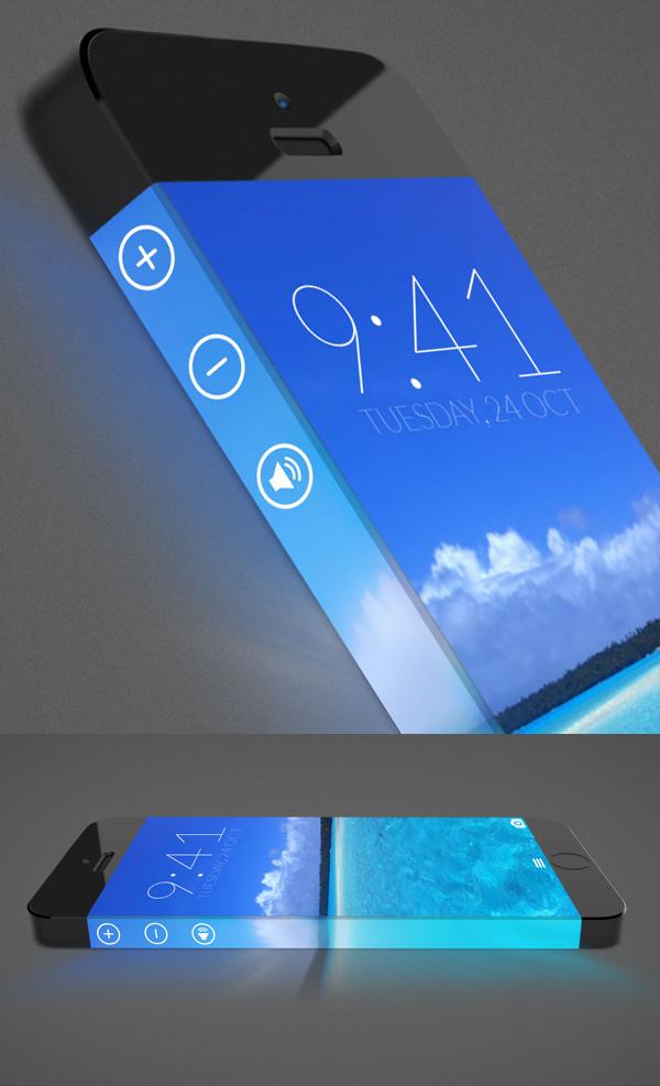 Free Iphone 7 Mockup Concept PSD Design