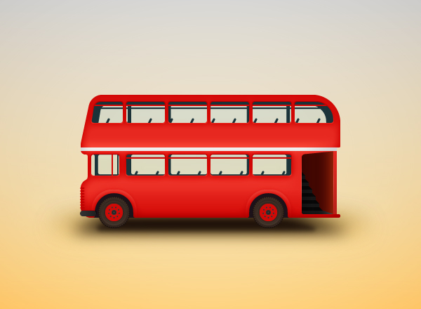 Create a Double-Decker Bus Illustration in Adobe Illustrator